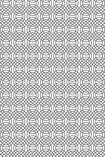 Abstrakt Lace Fence Füllung 150